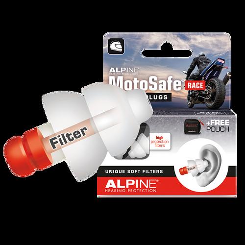 Alpine Moto Safe Race - Protección para los oídos