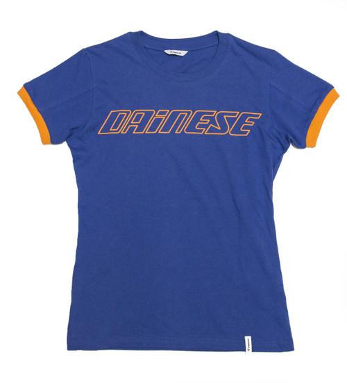 Dainese Camiseta Multicolor - Mujer - Azul