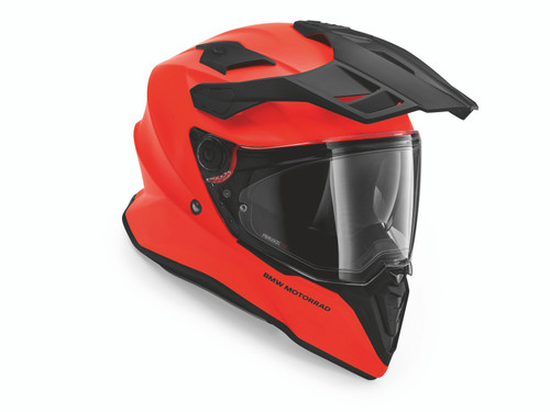 BMW Casco GS Pure Neon Orange Matt