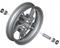 BMW R 1250 RT Llanta delantera Nachtzwart-Uni U103 3.5x17 Opción 719 Sport