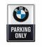 BMW Placa de metal Classic