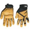 Klein 40222 Journeyman Leather Gloves, X-Large