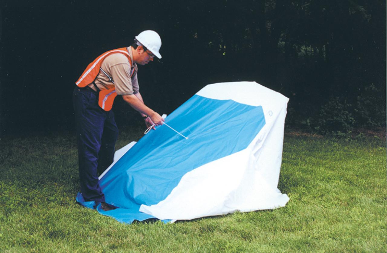 Condux Quick Tent – 4 x 4 with Velcro Door