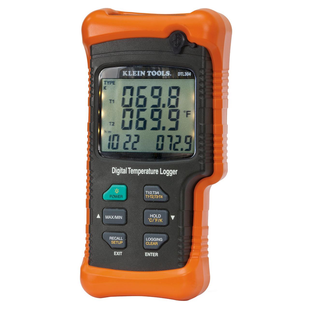 Klein DTL304 Quad Input Temperature Logger