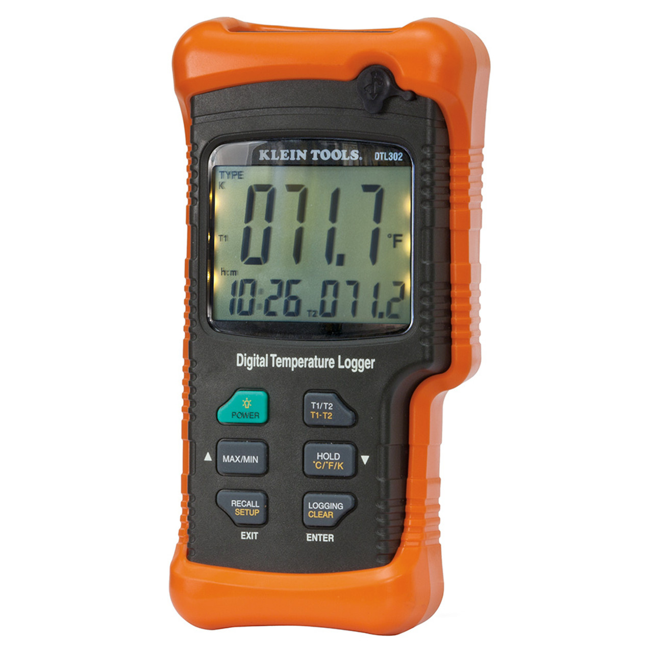 Klein DTL302 Dual Input Temperature Logger