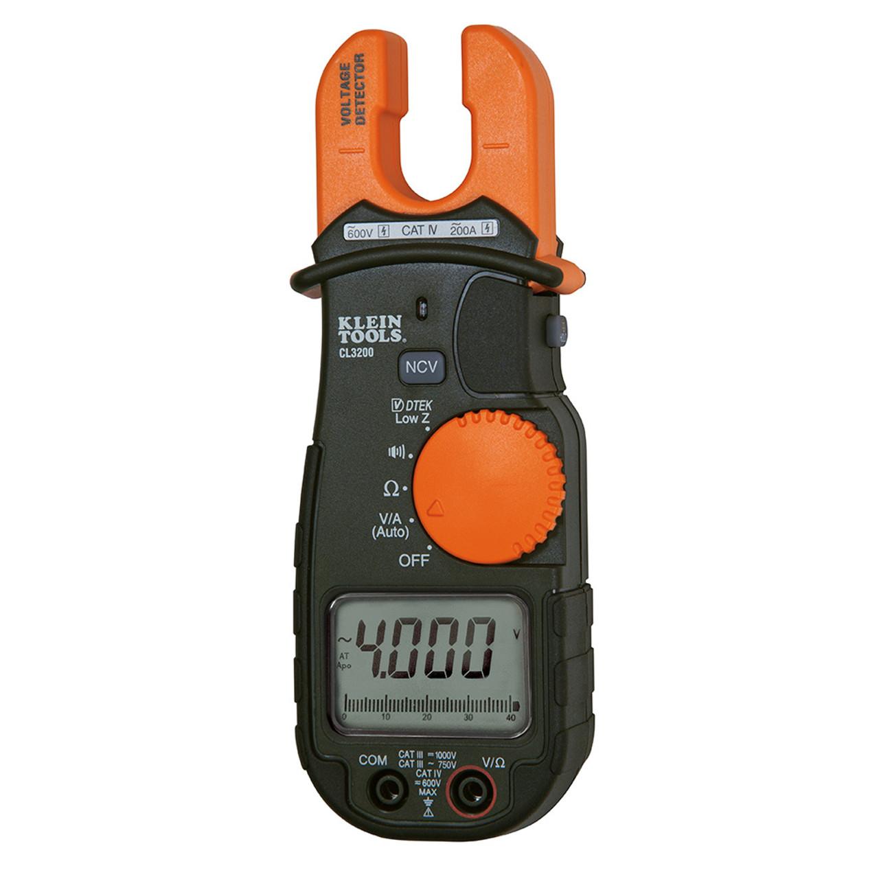 Klein CL3200 200A AC Fork Tester