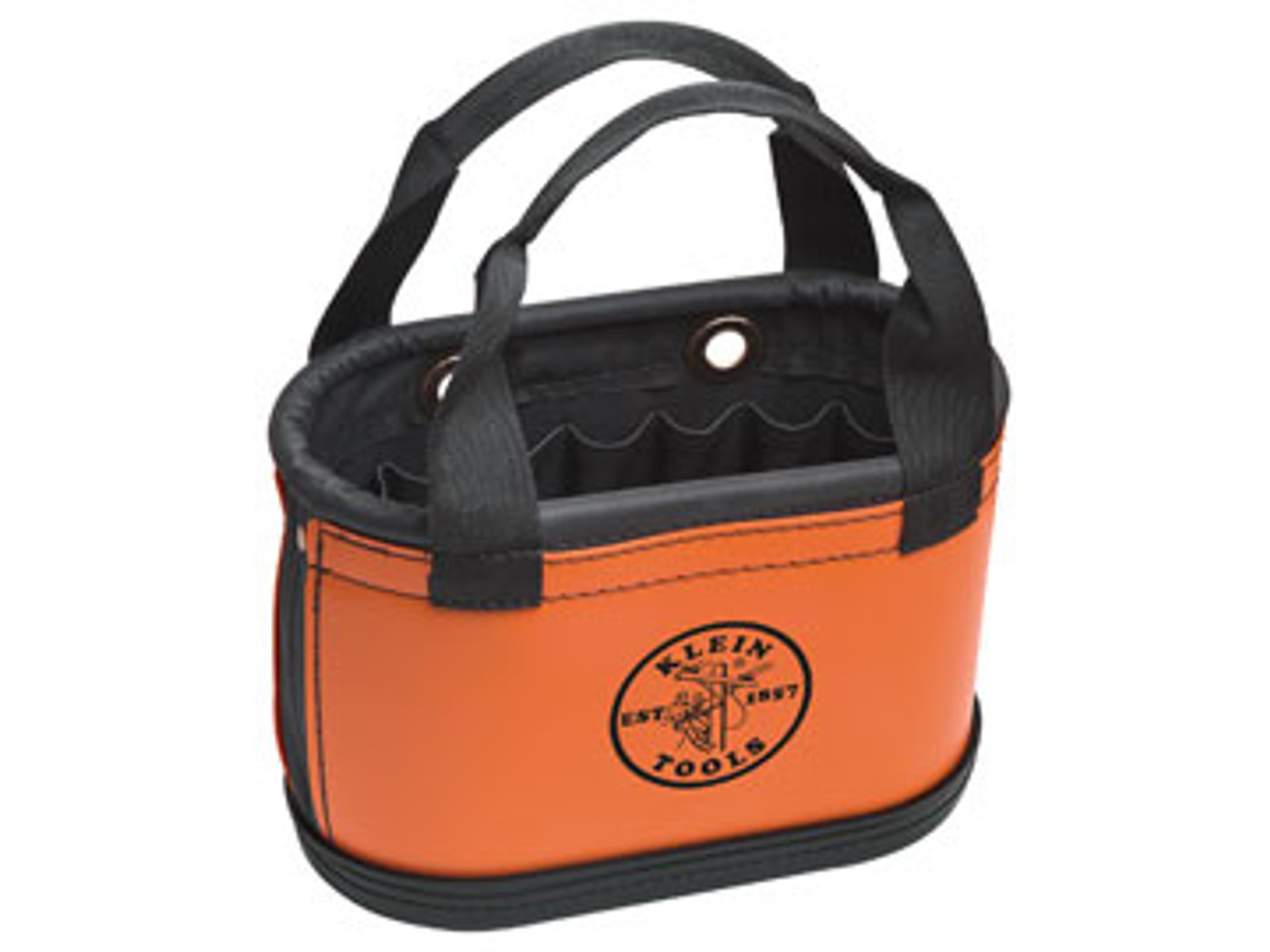 5144HBS Hard Body Oval Bucket with 14 Interior Pockets