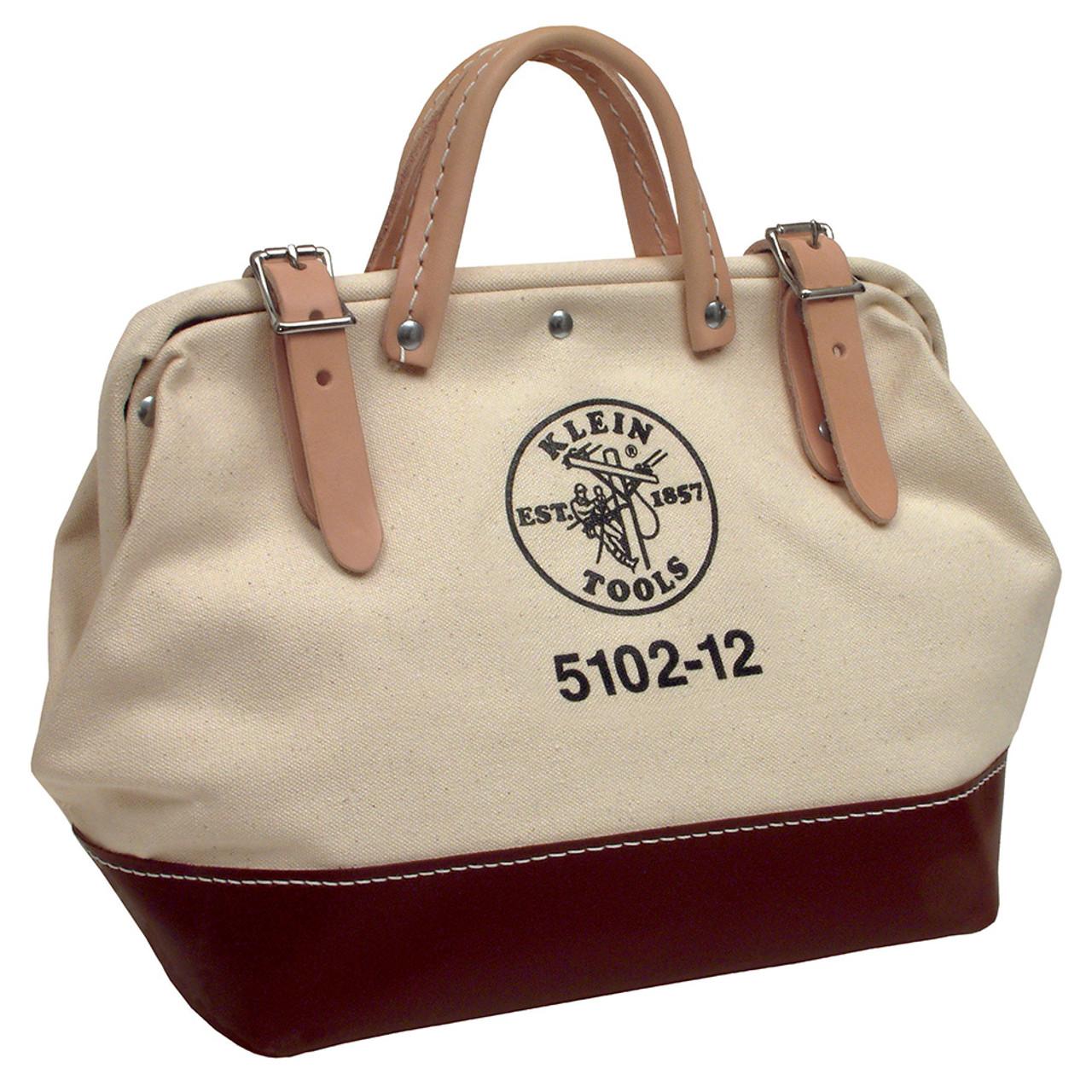 "5102-12 12"" Canvas Klein Tool Bags"