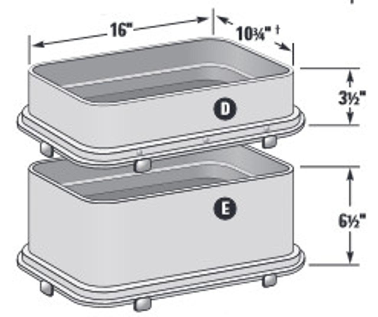 "10""x15""x3"" Standard Utility Box Extension"