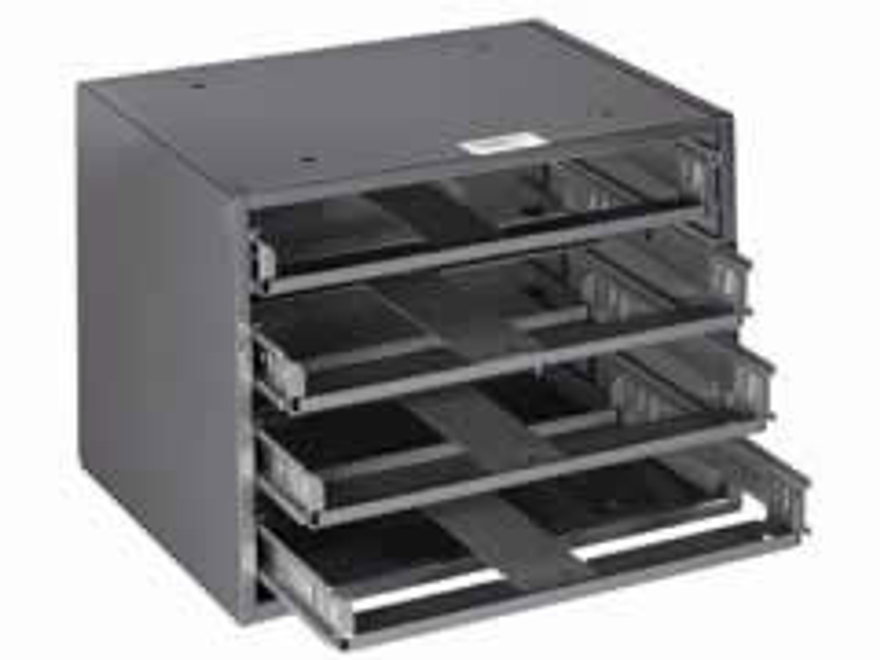 Klein 54476 Mid-Size 6-Box Slide Rack