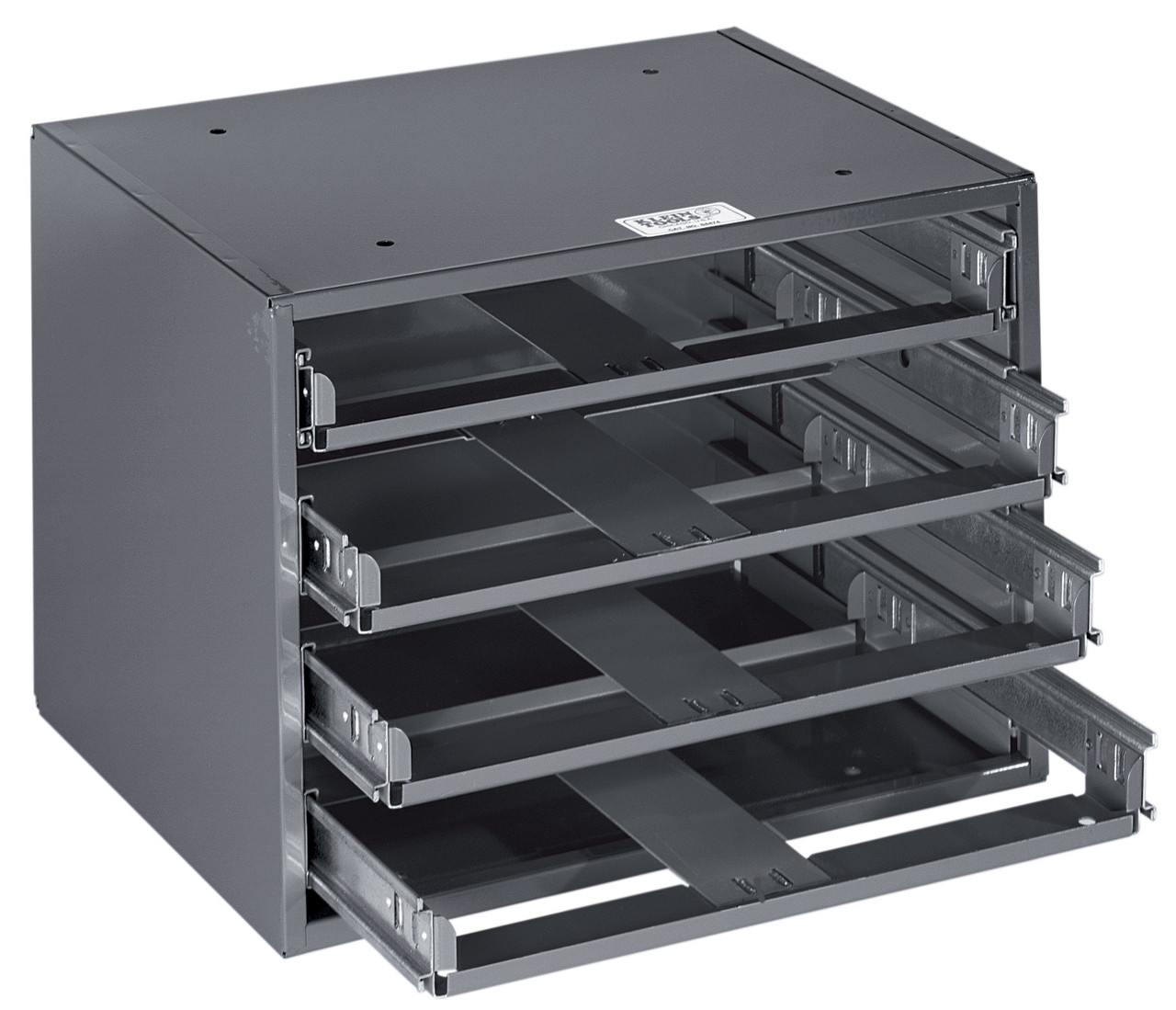 Klein 54474 Mid-Size 4-Box Slide Rack