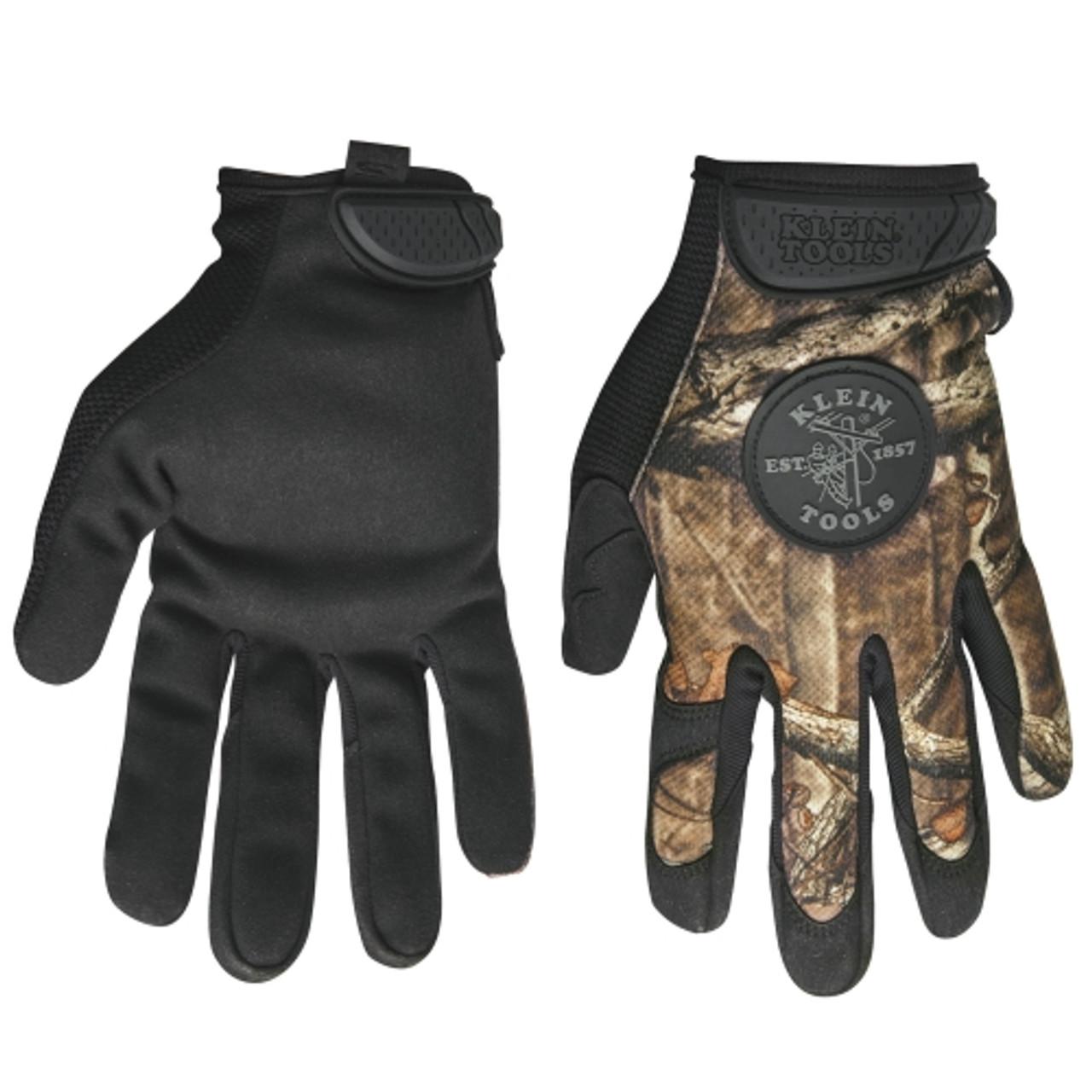 Klein 40210 Journeyman Camouflage Gloves, X-Large