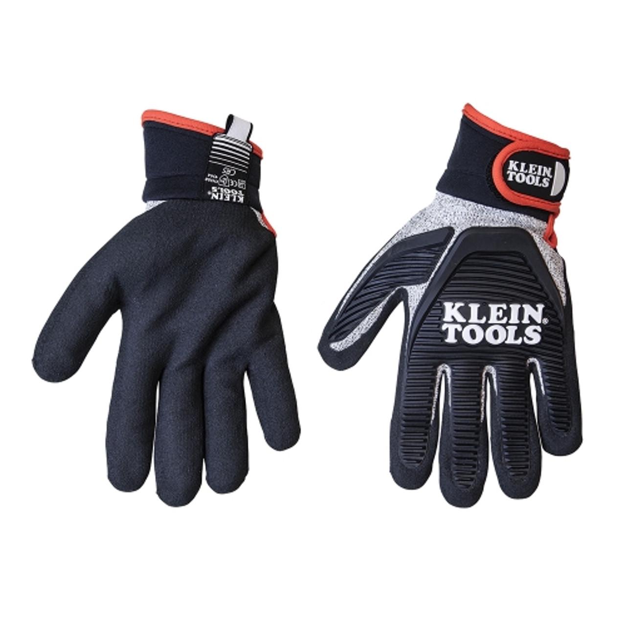 Klein 40223 Journeyman Cut 5 Resistant Gloves, Medium
