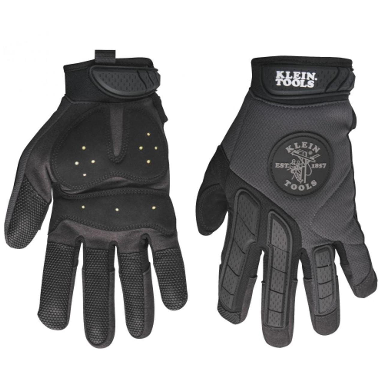 Klein 40214 Journeyman Grip Gloves, Medium
