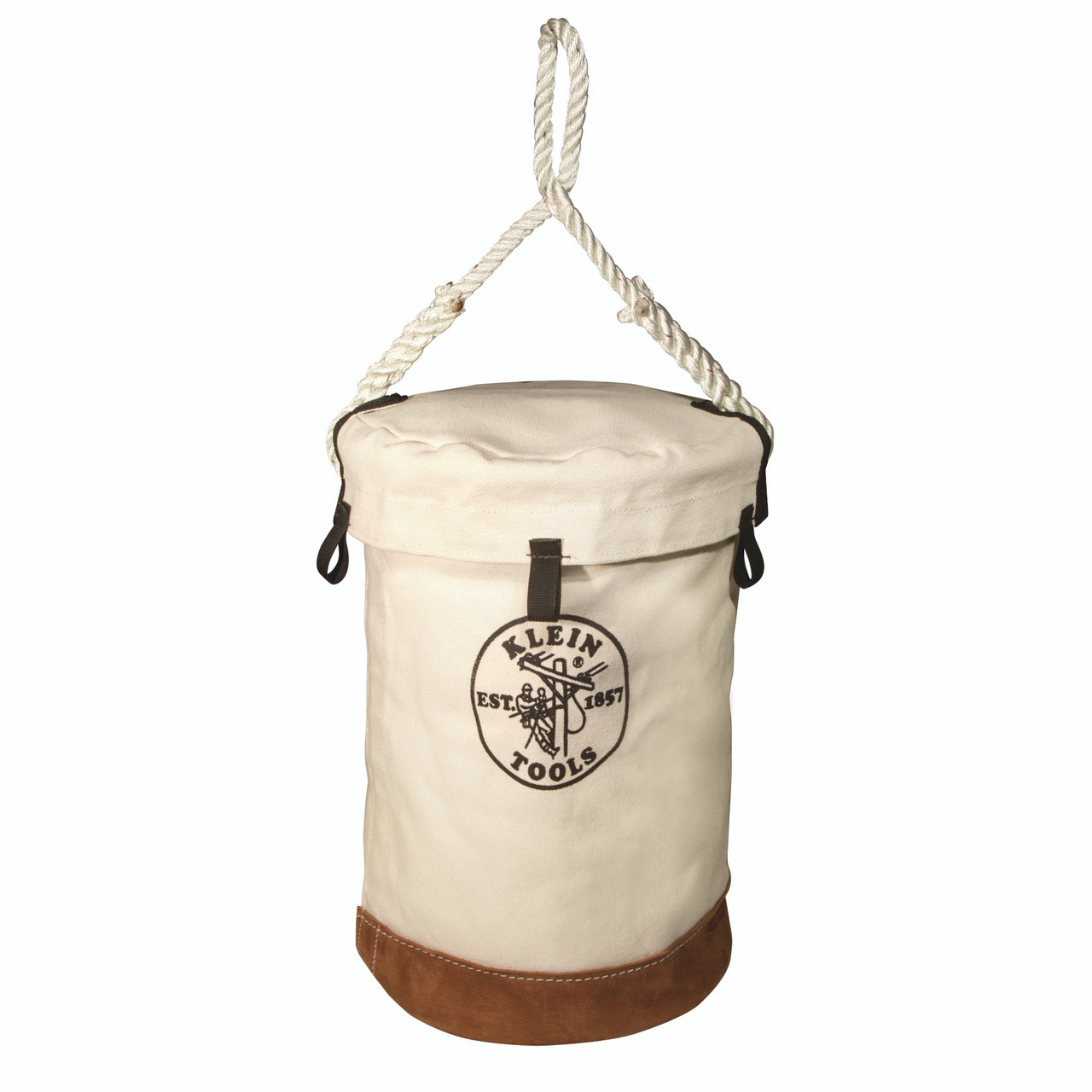 Klein 5104VT Leather Bottom Bucket with Top