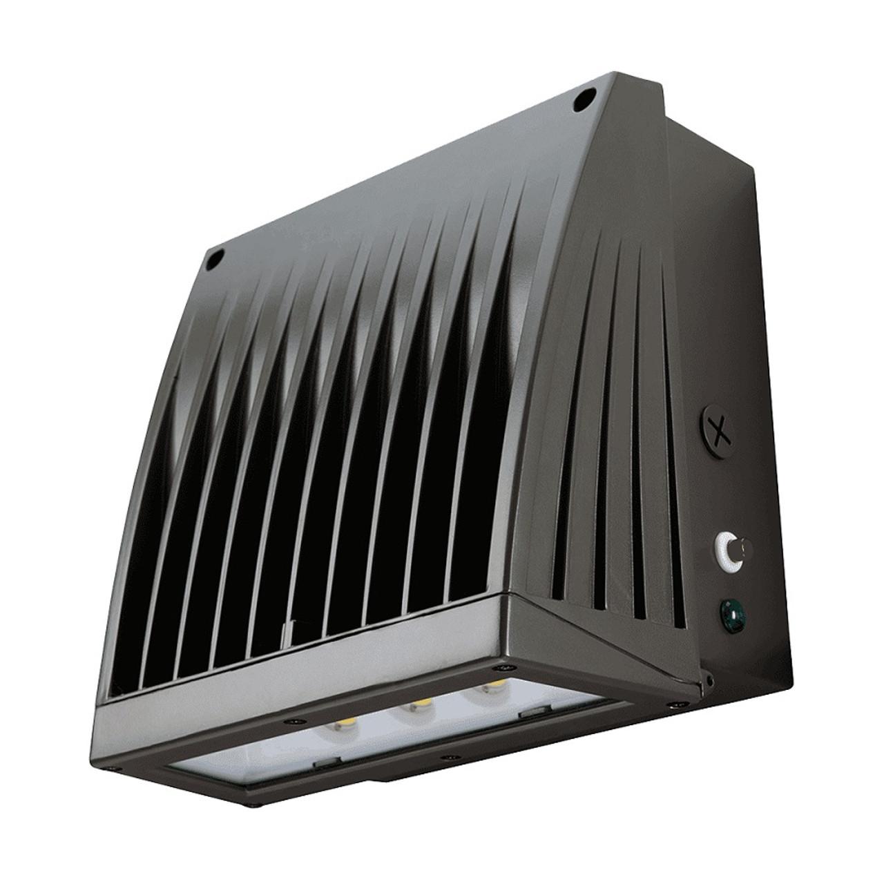 Atlas 60W SlimPak Pro LED Wall Light - Battery Back Up