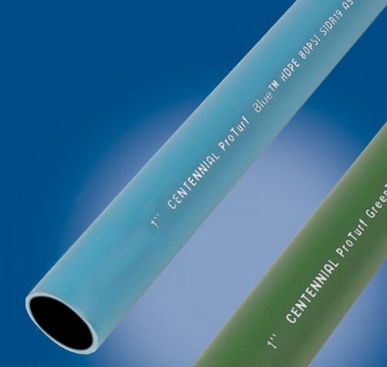 Blue HDPE 3608 NSF Potable Water Pipe