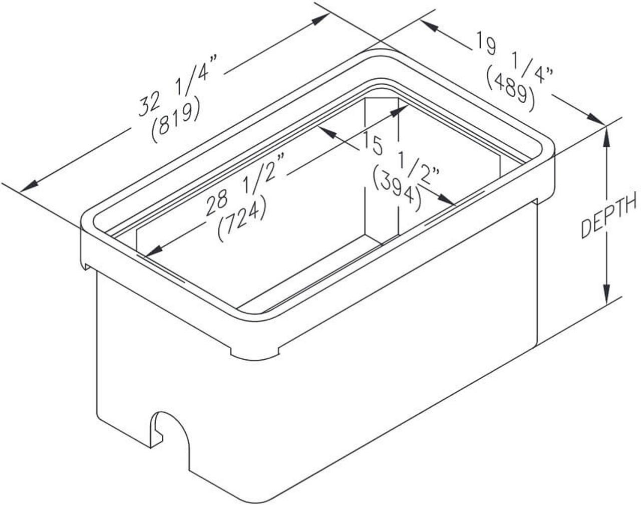 PG1730BA Quazite Box 17 X 30 - ANSI Tier 22