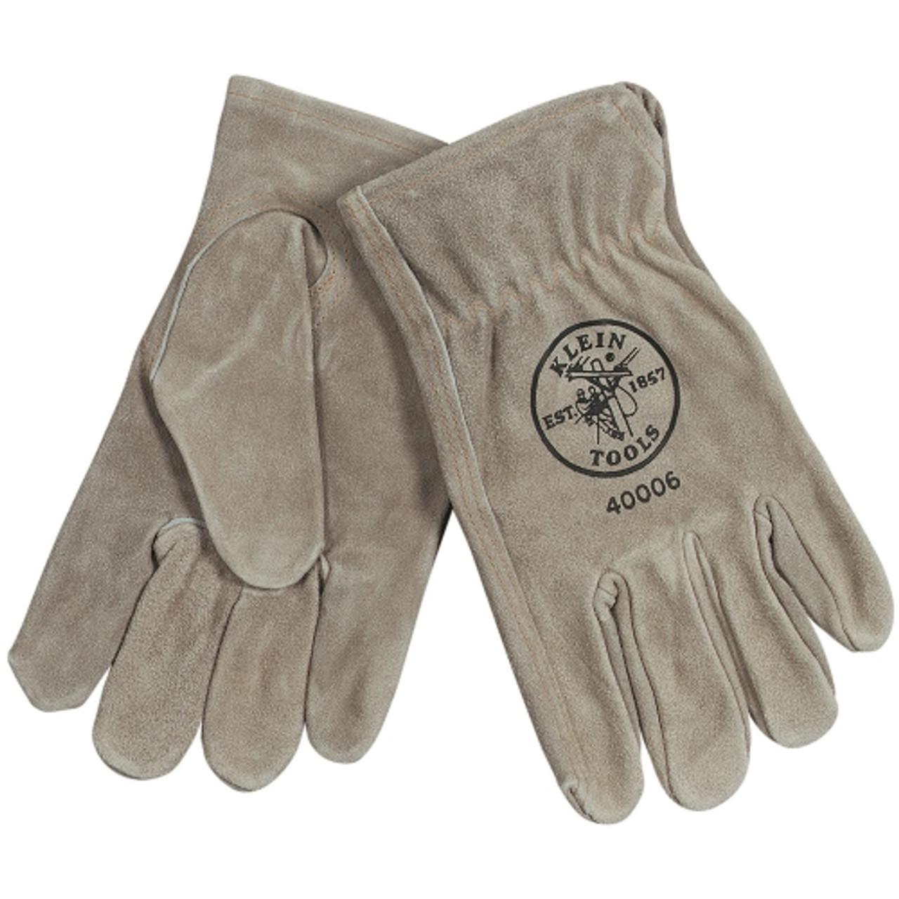 Klein 40004 Cowhide Drivers Gloves Medium