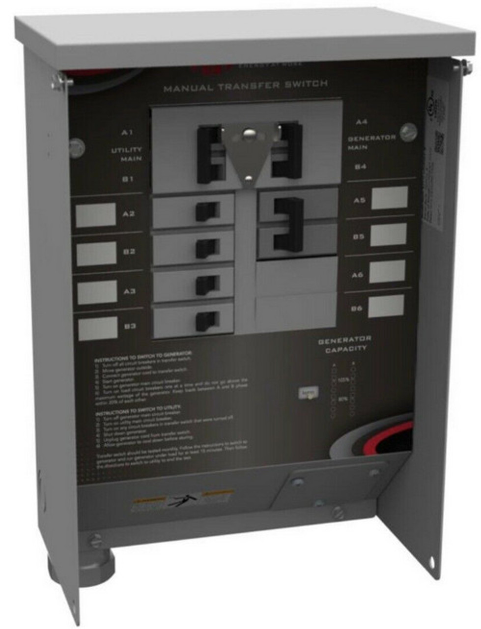 MMTS3014SYSL2C Manual Transfer Switch WITH 10/4 Power Cord