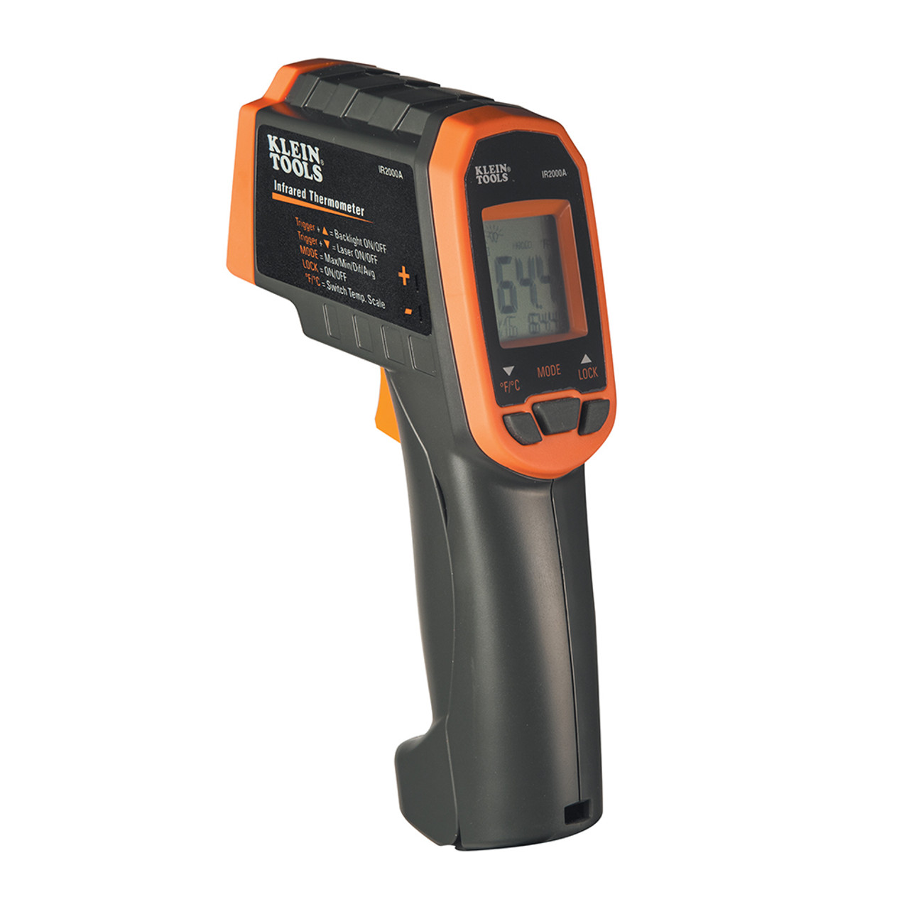 Klein IR2000A 12:1 Dual Laser Infrared Thermometer