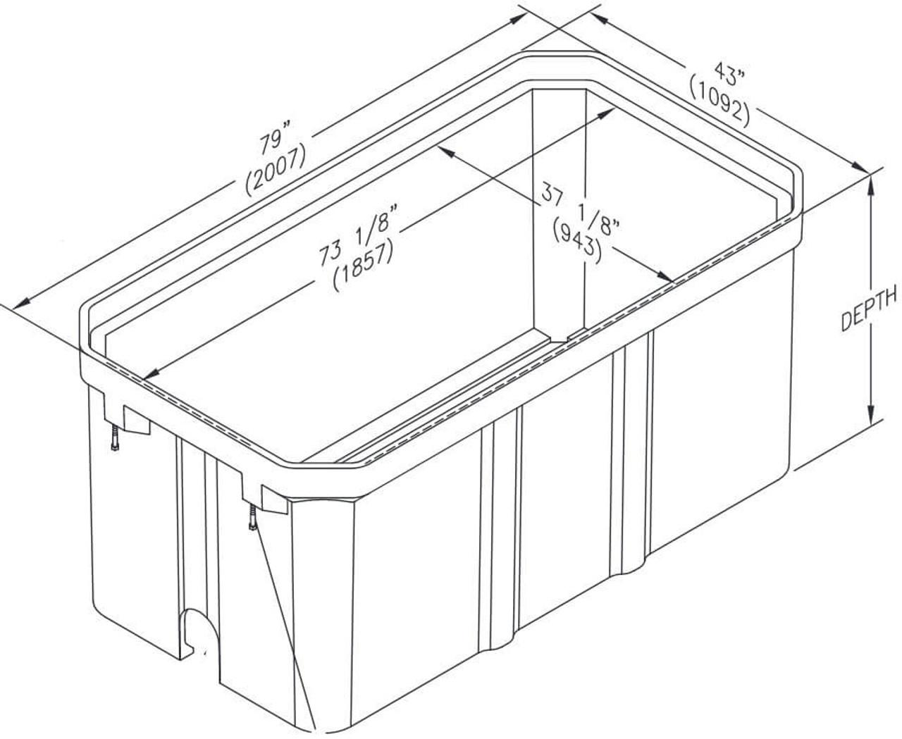 PG3672BA Quazite Box 36 X 72 - ANSI Tier 22