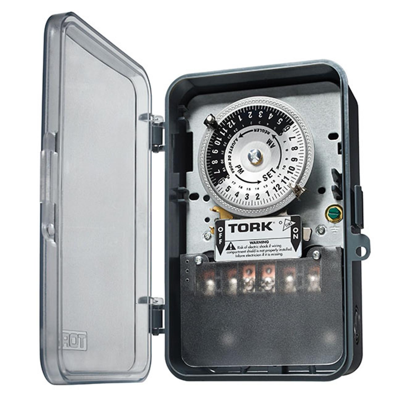 Tork 1109A-PC Mechanical 24 Hour Timer