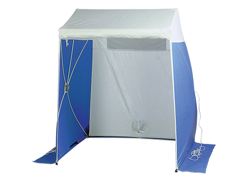 Condux Quick Tent – 6 x 6 with Zipper Door