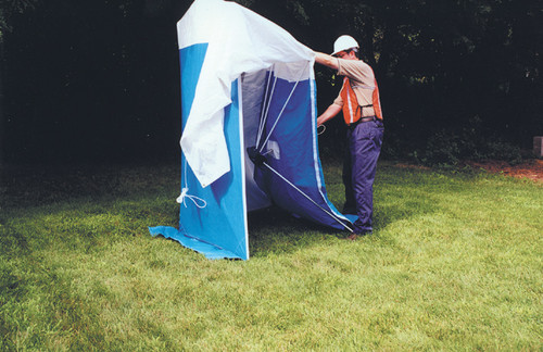 Condux Quick Tent - 8X8 with Zipper Door & Bag