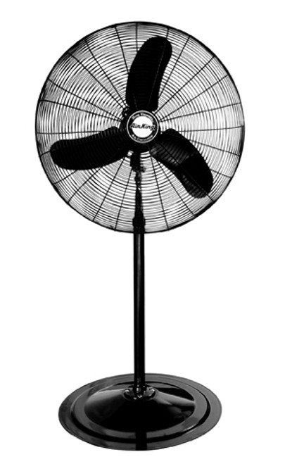 9170 30in 1/3 HP Industrial Grade Pedestal Fan