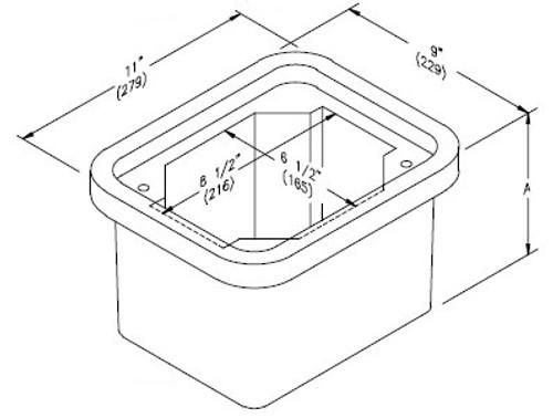 Quazite Box 6 X 8 X 6