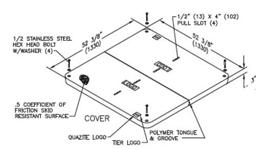 48 x 48 PG Quazite Cover