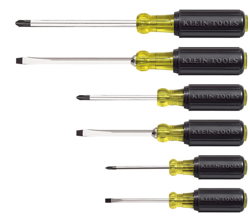 Klein 85074 6-Piece Screwdriver Set
