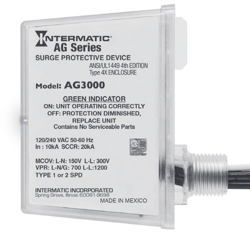Intermatic AG3000 HVAC Surge Protector