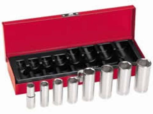 Klein 65502 8-Piece, 3/8-Inch Drive Deep-Socket Set