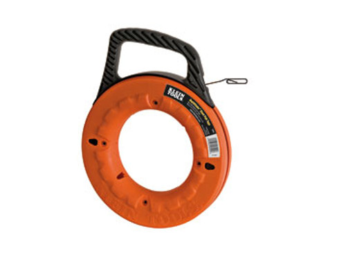 """KLEIN 56002 Depthfinder™ High Strength 1/8"""" Wide Steel Fish Tape"""