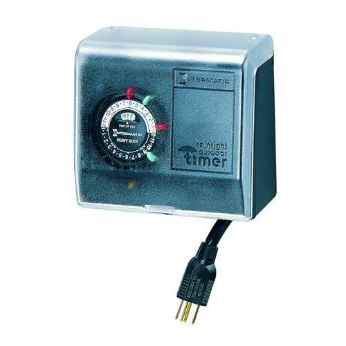 Intermatic P1101 Outdoor Plug In Timer