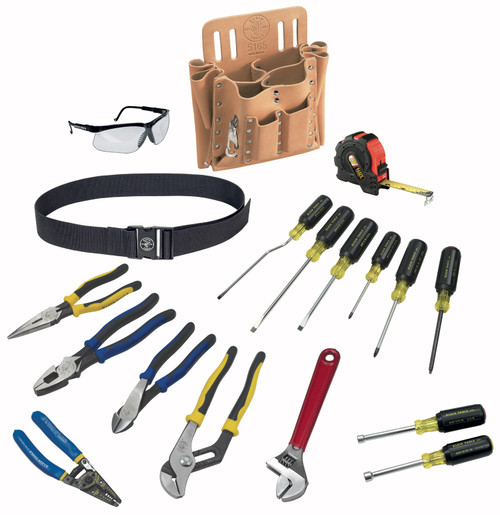 Klein 80118 18-Piece Journeyman Tool Set