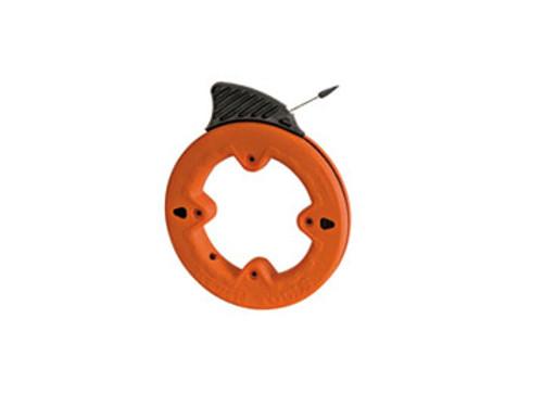 """KLEIN 56006 Depthfinder™ High Strength 1/4"""" Wide Steel Fish Tape"""