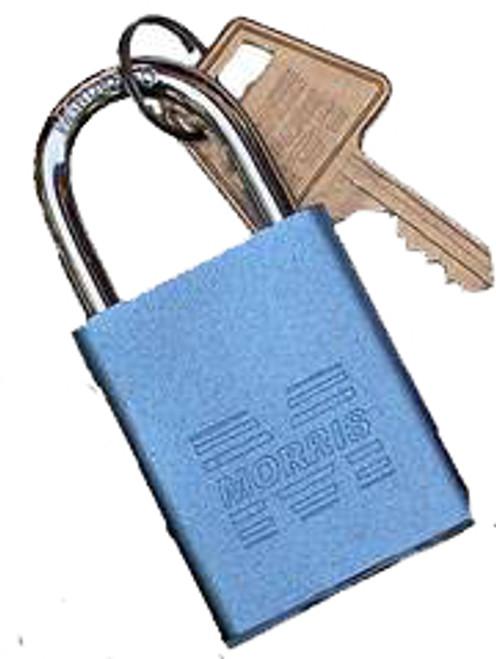 Padlocks Blue Keyed Different Accepts Master Key