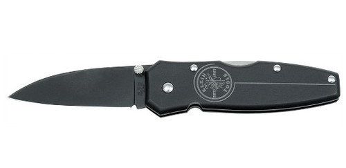 Klein Tools 44001-BLK Black Lightweight Lockback Knife