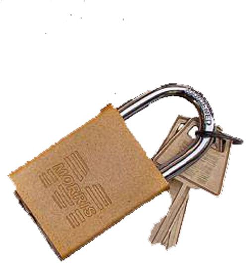 Padlocks Gold Keyed Different Accepts Master Key