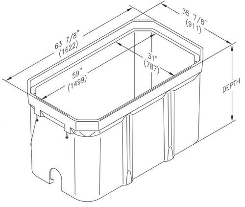 PG3060BA Quazite Box 30 X 60 - ANSI Tier 22