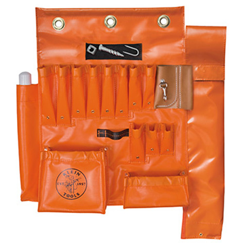 Klein 51829MHS Aerial Apron with Hot Stick Pocket & Magnet