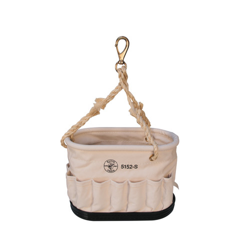 Klein 5152-S Oval Canvas Bucket with 41 Pockets