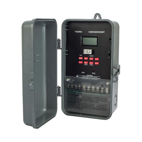 Tork DZM200BP 2 Channel Lighting Controller  SPDT