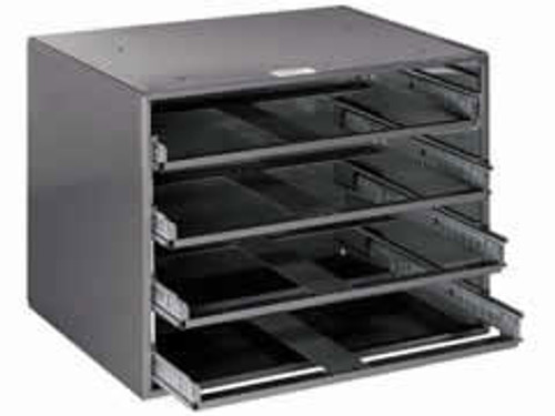 Klein 54477 Extra-Large 4-Box Slide Rack