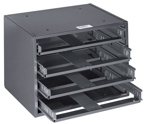 Klein 54474 Mid-Size 4-Box Slide Rack
