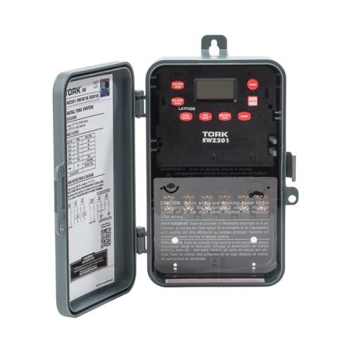 Tork EWZ201C Astro Digital 2CH 30A 120-277V SPST/DPST