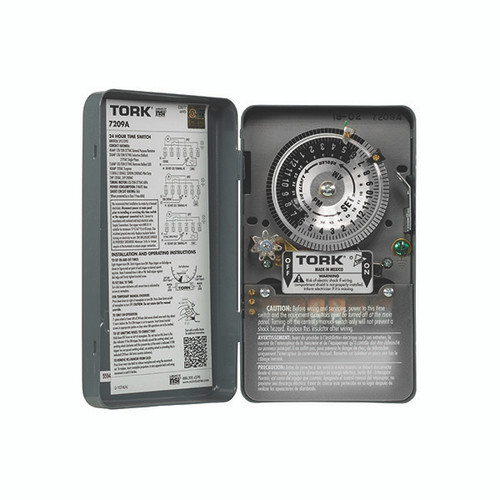 NSI Tork 7209A 24 Hour 40A 120V Indoor TImer